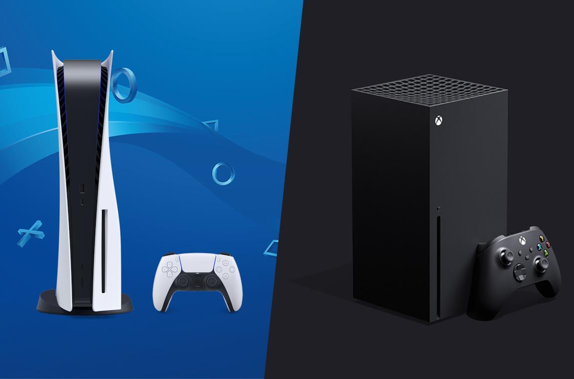 A sinistra PlayStation 5 Standard Edition, a destra Xbox Series X
