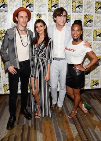Reeve Carney, Victoria Justice, Ryan McCartan, Christina Milian al Comic-Con di San Diego