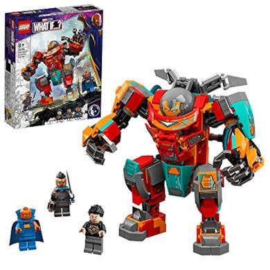 LEGO 76194 Marvel Tony Stark's Sakaarian Iron Man Action Figure to Transformer Car Toy for Kids Aged 8
