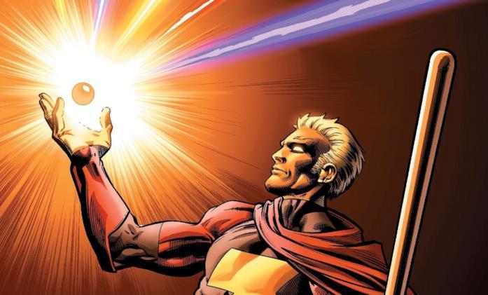 La versione a fumetti di Adam Warlock