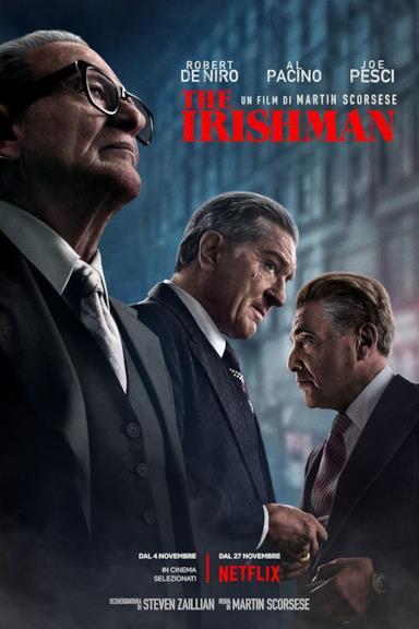 Poster The Irishman