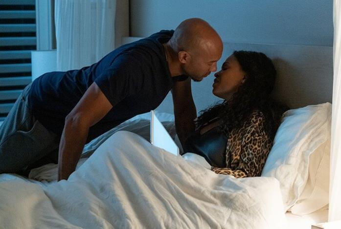 Nia Long e Stephen Bishop si baciano in Relazione pericolosa