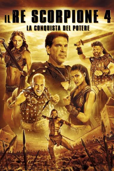 Poster Il Re Scorpione 4 - La conquista del potere
