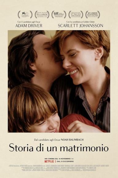 Poster Storia di un matrimonio