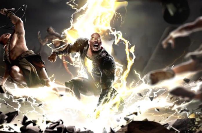 Black Adam utilizza i propri poteri