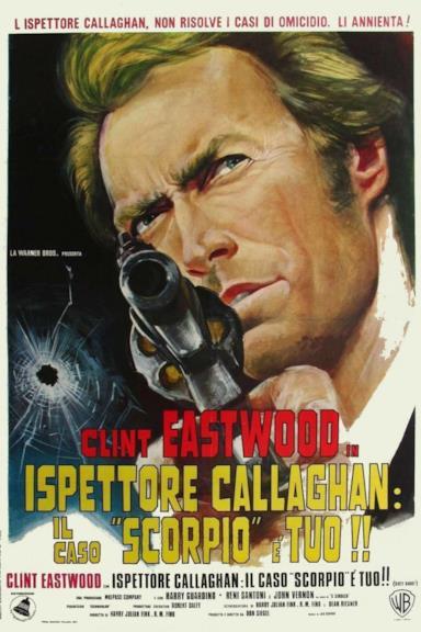 Poster Ispettore Callaghan: il caso Scorpio è tuo!