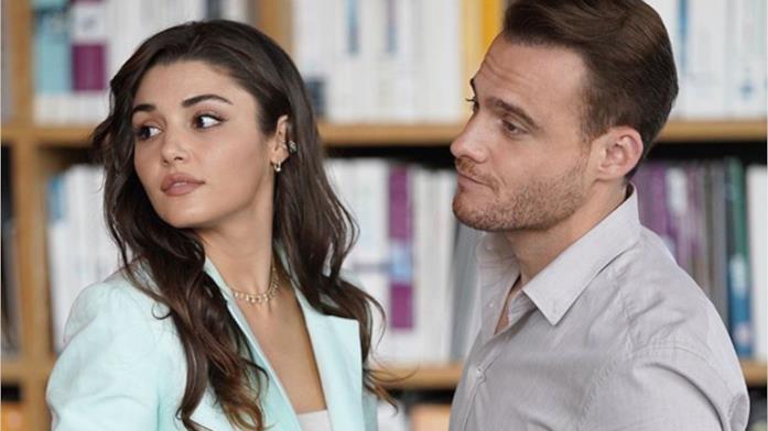 I protagonisti di Love Is In The Air, Hande Erçel e Kerem Bürsin