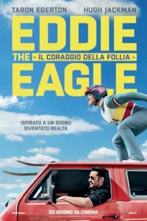 Poster Eddie the Eagle - Il coraggio della follia