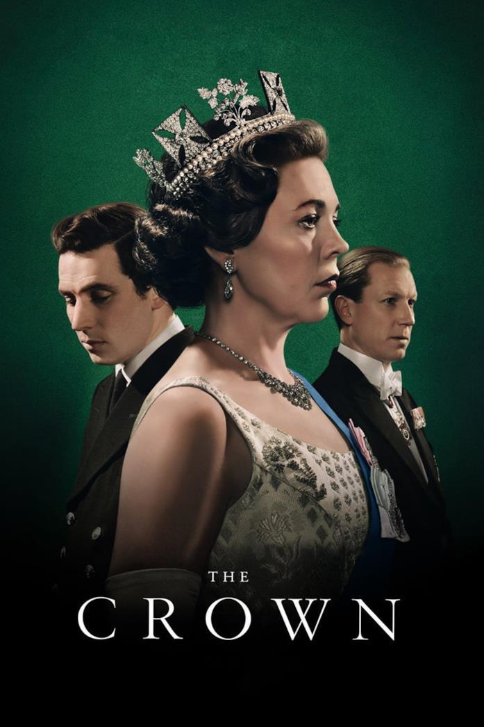 Il cast nel poster di The Crown