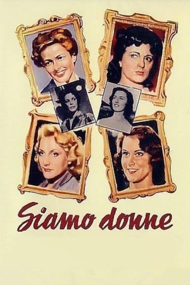 Poster Siamo donne