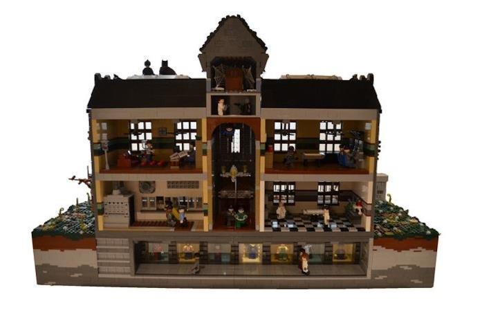 Arkham Asylum in versione LEGO