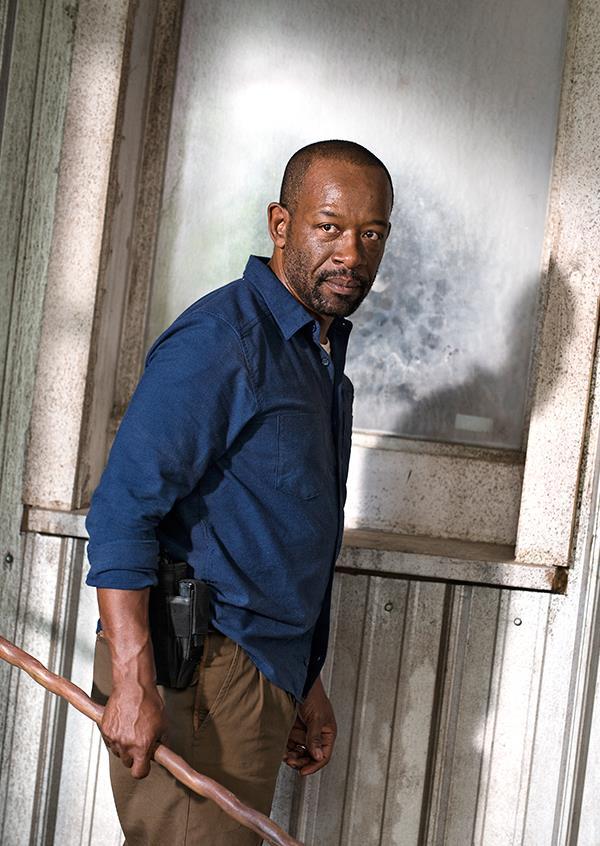 La prima foto ufficiale di Morgan in The Walking Dead 7
