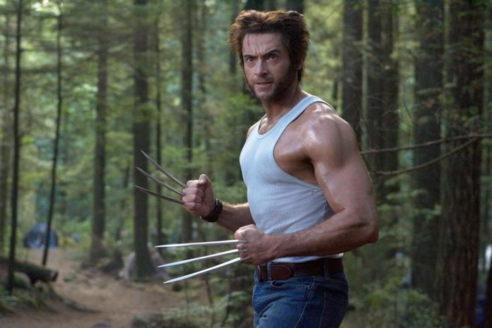 Un'immagine con Hugh Jackman nei panni di Wolverine