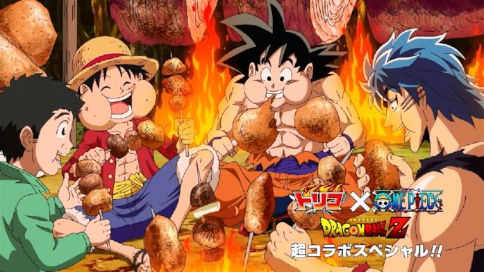One Piece Toriko Dragon Ball