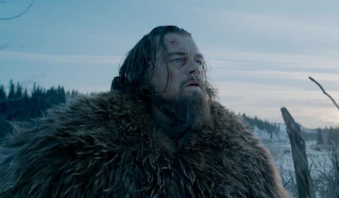 Leonardo DiCaprio in Revenant