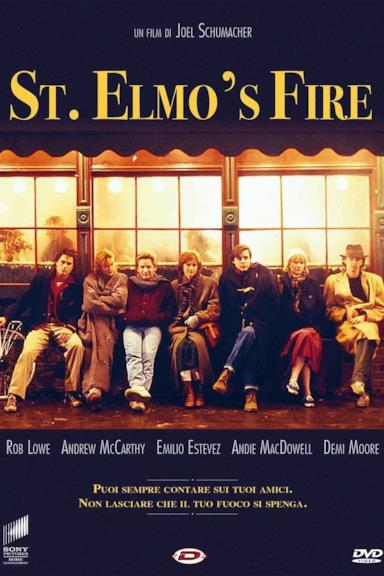Poster St. Elmo's Fire
