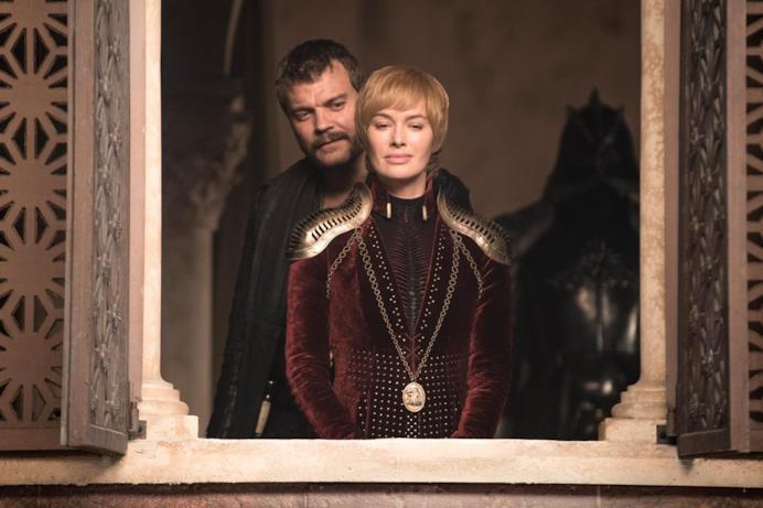 Euron Greyjoy e Cersei Lannister ad Approdo del Re