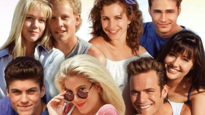 il cast originale di Beverly Hills 90210