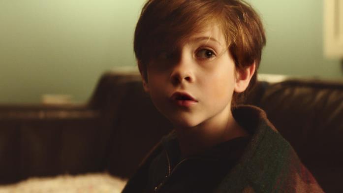 Tom nella sala d'aspetto di Mary, sua psicologa infantile