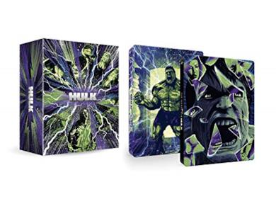 Hulk Deluxe Collection - Steelbook 4K Ultra Hd (Box Set) (4 Blu Ray)