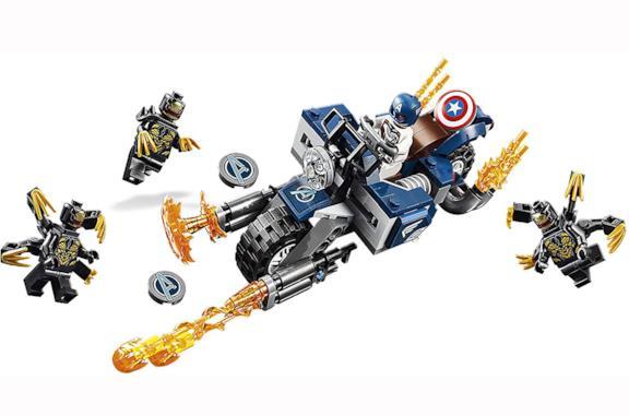 Tutti i set LEGO da ricostruire di Spider-Man e gli Avengers