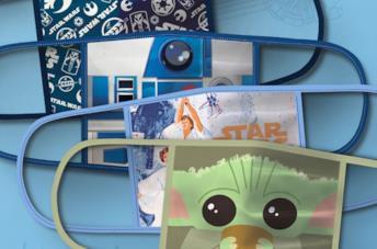 Le mascherine Disney dedicate a Star Wars