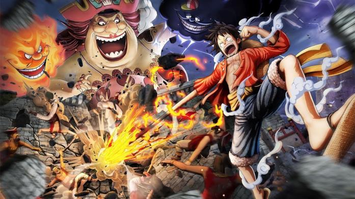 One Piece Pirate Warriors 4 Rufy Big Mom