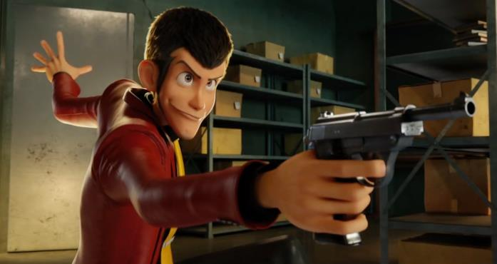 Lupin giacca rossa 3D