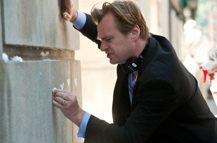 Un'immagine del regista Christopher Nolan