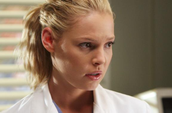 Katherine Heigl ha interpretato Izzie Stevens per sei stagioni di Grey's Anatomy
