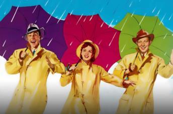 Locandina dei film musical Singin' In the Rain