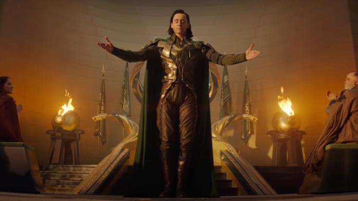 Tom Hiddleston è Re Loki