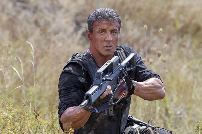 Sylvester Stallone ne I Mercenari 3