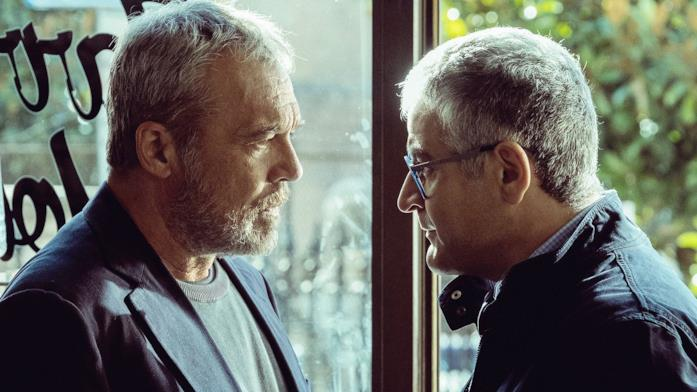 Claudio Amendola e Fortunato Cerlino in Nero a metà