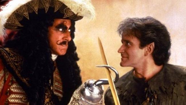 Un'immagine del film Hook - Capitan Uncino