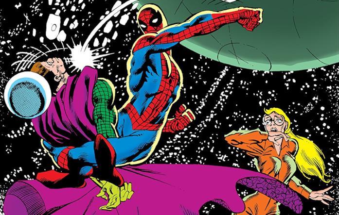 Dettaglio della cover di Peter Parker, The Spectacular Spider-Man #51