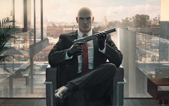 L'Agente 47 al lavoro in Hitman: Definitive Edition