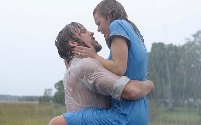Noah e Allie in una scena de Le pagine della nostra vita
