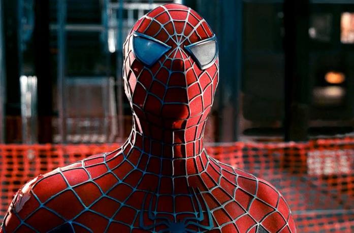 Un'immagine di Spider-Man interpretato da Tobey Maguire