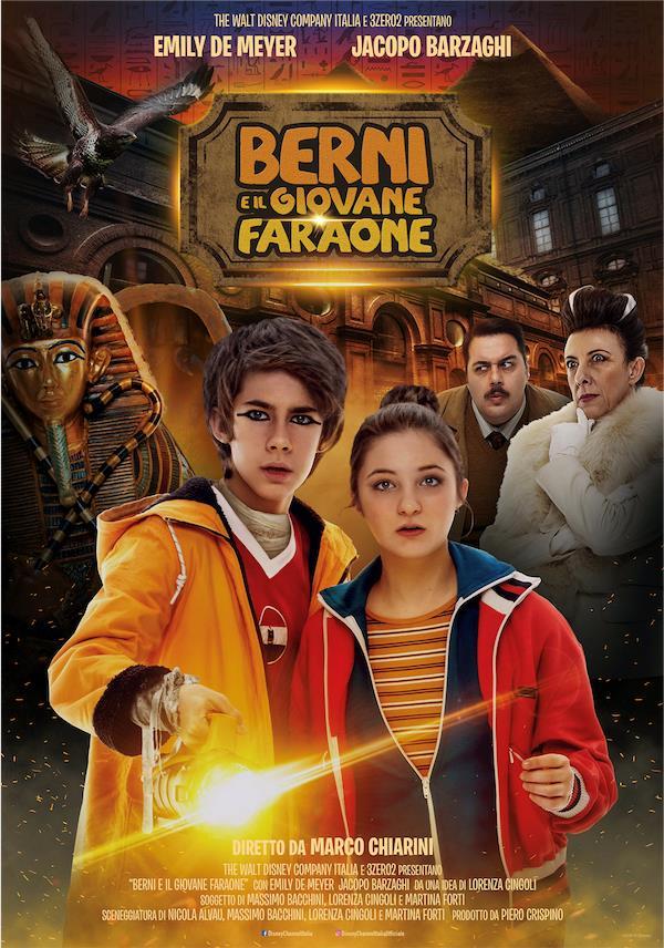 La locandina ufficiale del film evento Berni e il Giovane Faraone