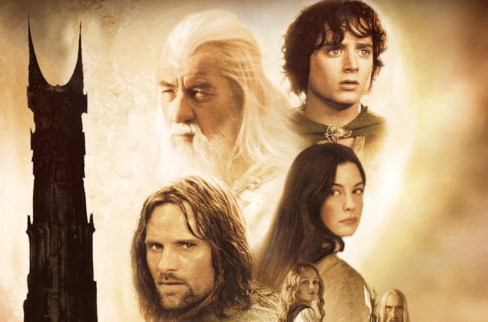 Primi piani del cast de Il Signore degli Anelli