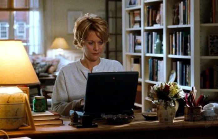 Kathleen Kelly in una scena di C'è posta per te
