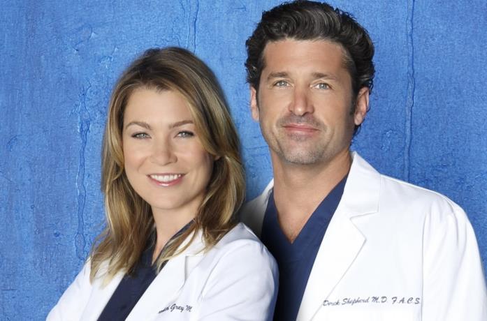 Meredith e Derek in un'immagine promozionale
