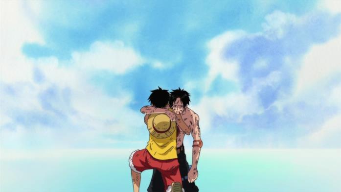 One Piece Ace Rufy