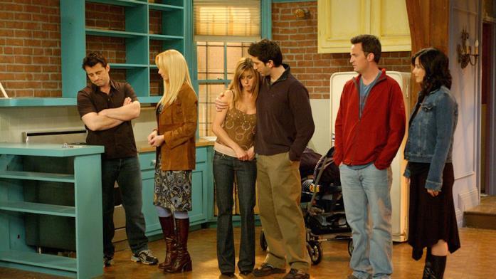Il cast della serie TV Friends