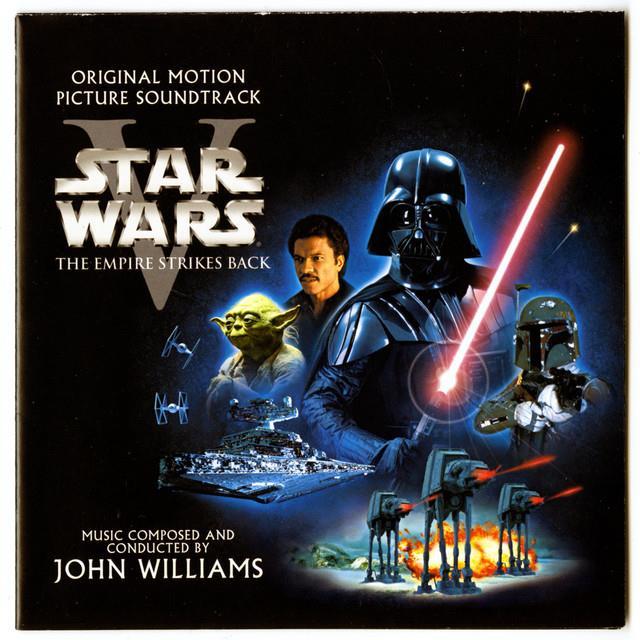 Copertina del CD Star Wars Episodio V