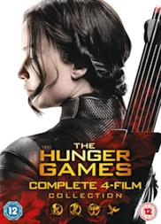 Hunger Games: Complete 4-Film Collection (4 Dvd) [Edizione: Regno Unito] [Edizione: Regno Unito]