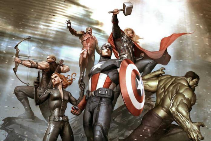 Gli Avengers riuniti