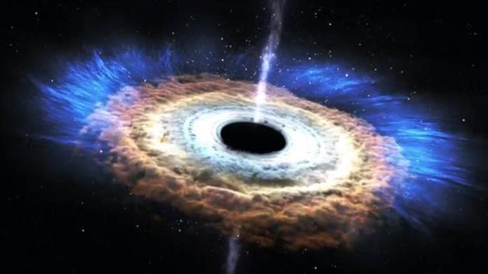 Il più grande buco nero di sempre