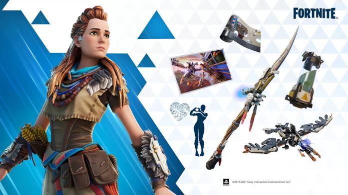 Fortnite: Battaglia Reale x Horizon Zero Dawn su PS5 e PS4
